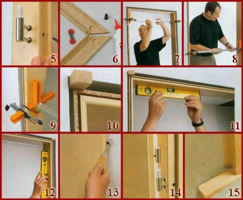 Собрать дверь своими руками 12